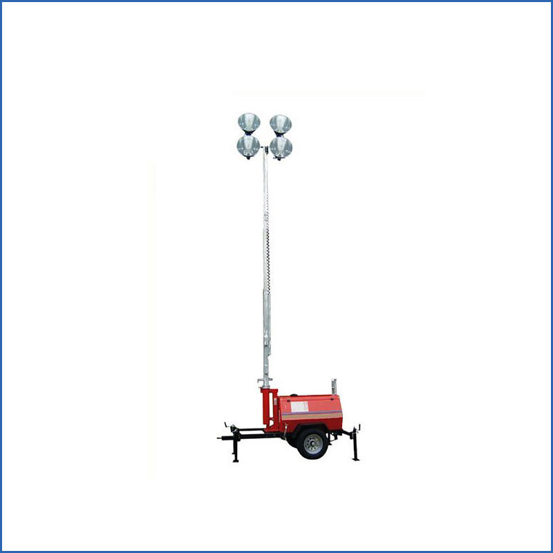AT7188F SFW6130 all-dimensional 4000w 220v metal halide movable light tower