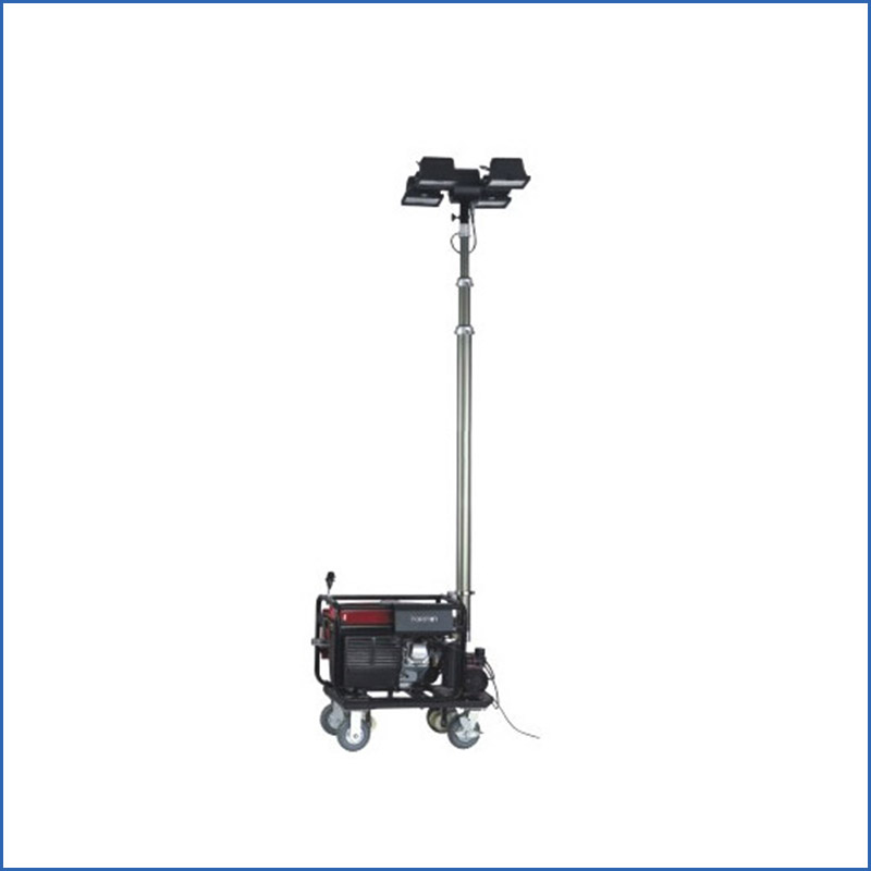 High mast mobile light tower diesel generator light tower