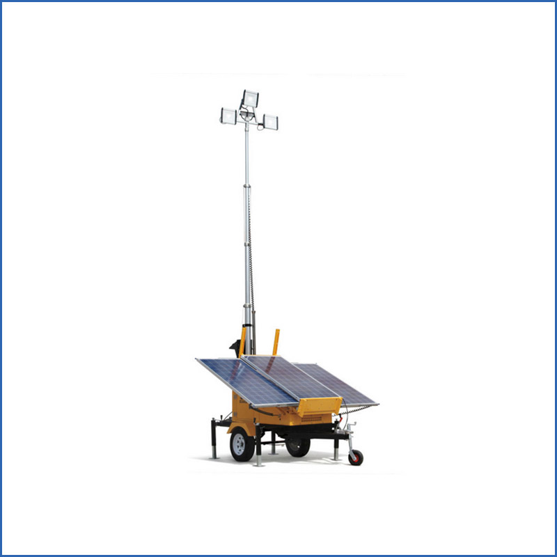 International Standard Solar Light Tower Light Tower Solar