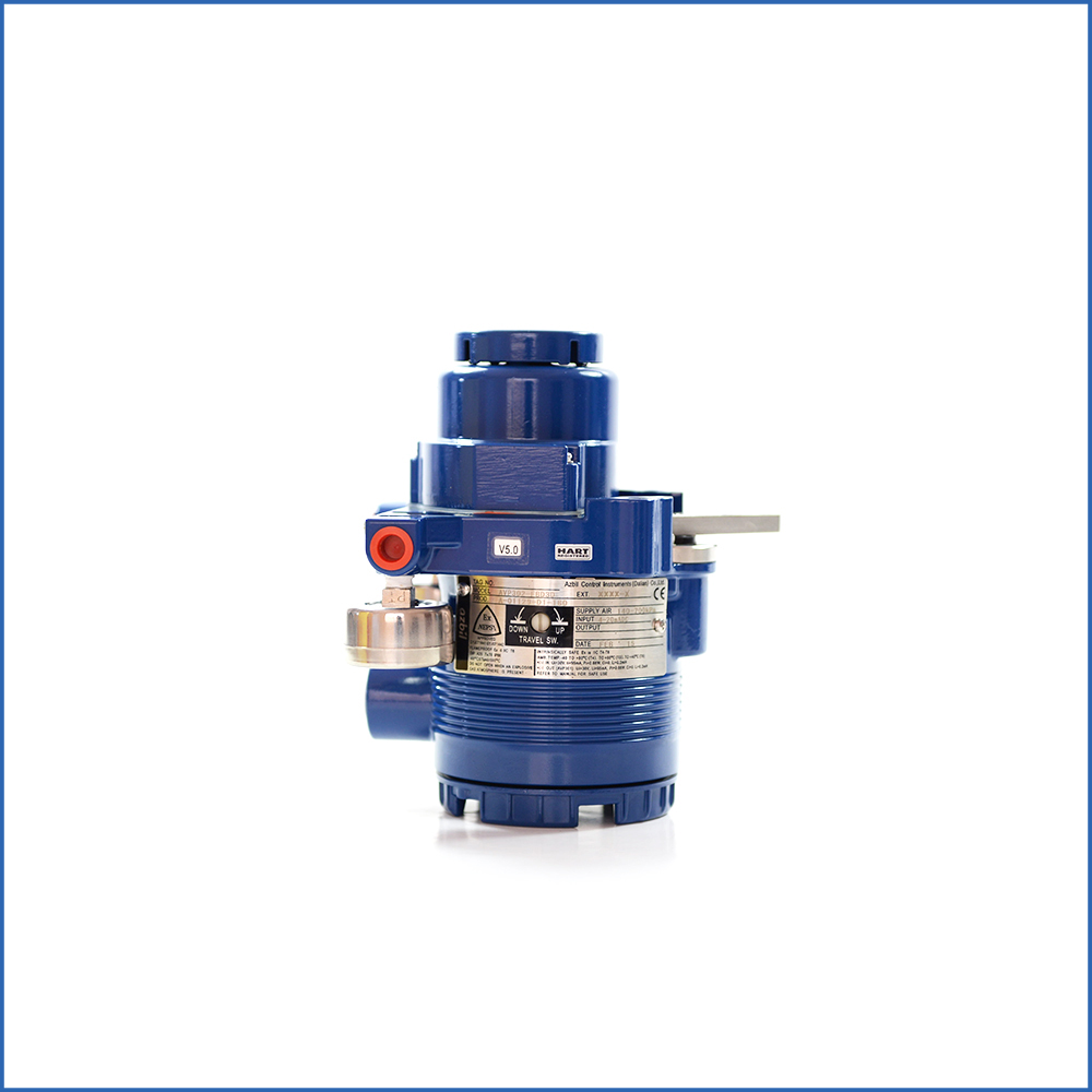 Azbil Smart Valve Positioner for Rotary Valve SVX102
