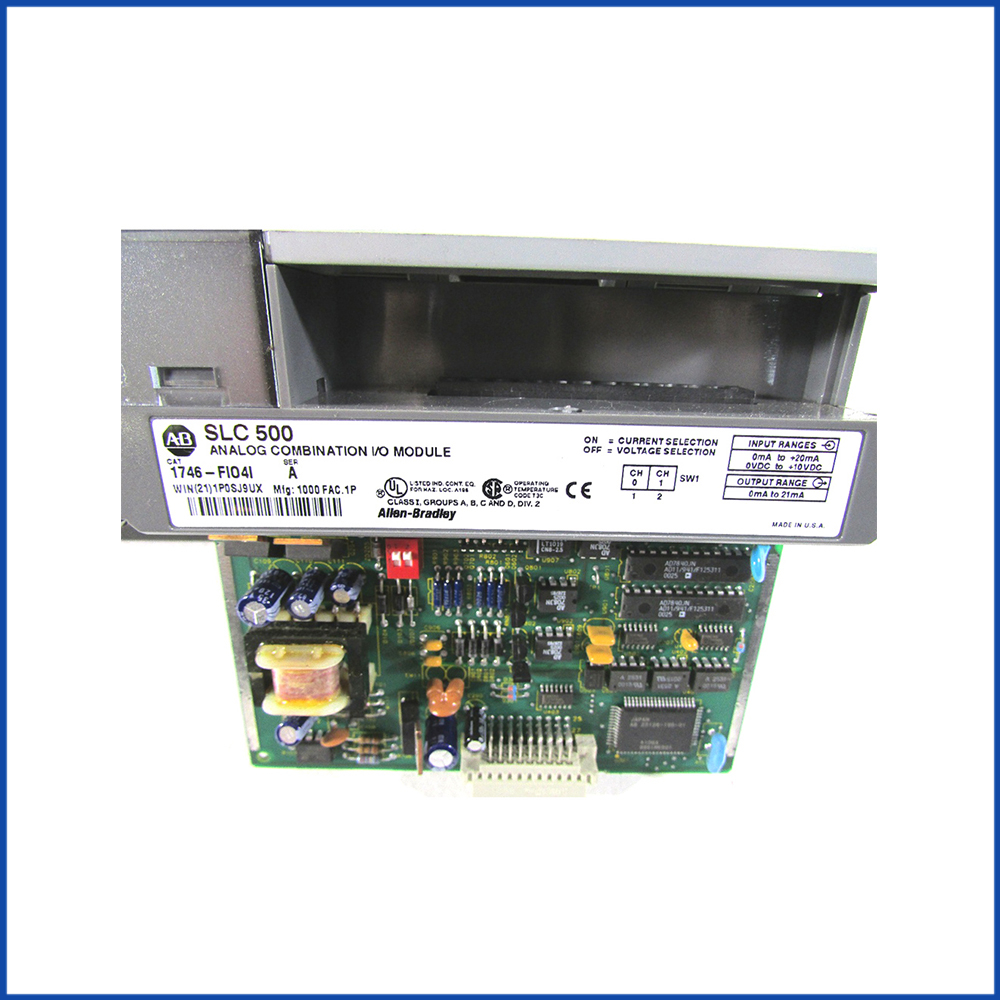 Allen Bradley 1746-FIO4I I/O Modules SLC 500 Processors