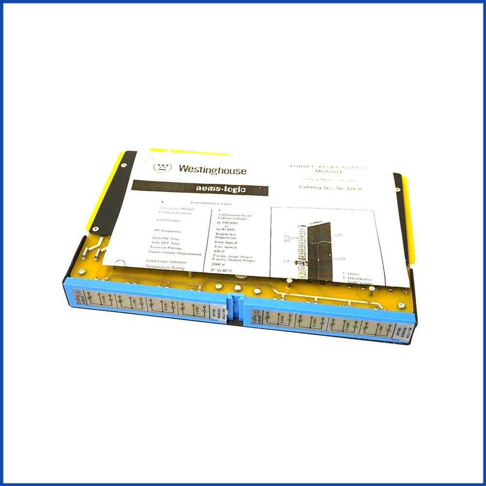 Westinghouse PLC 2840A21G08 Power Supply Module