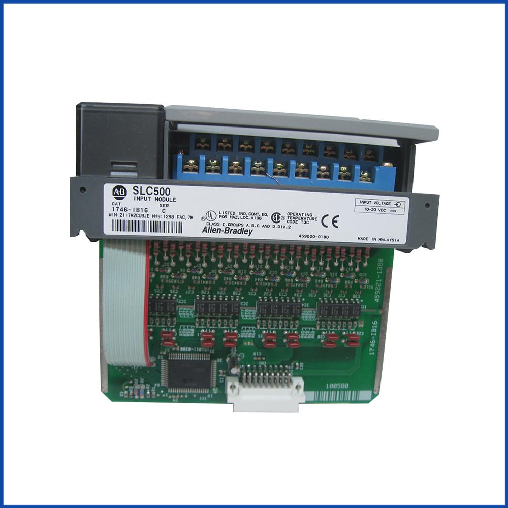 Allen Bradley 1746-IB16 IO Digital Input Module SLC 500 Processors