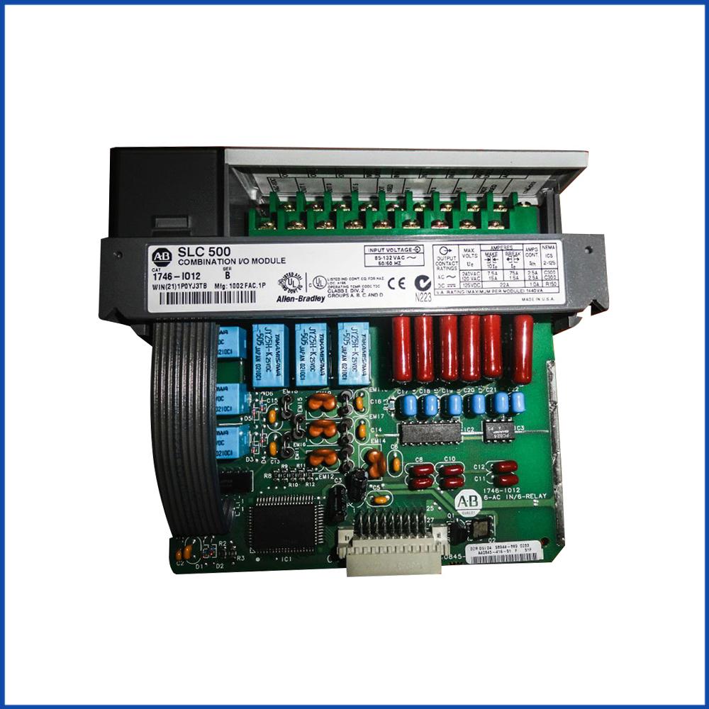 Allen Bradley 1746-IO12 IO Digital Input Module SLC 500 Processors