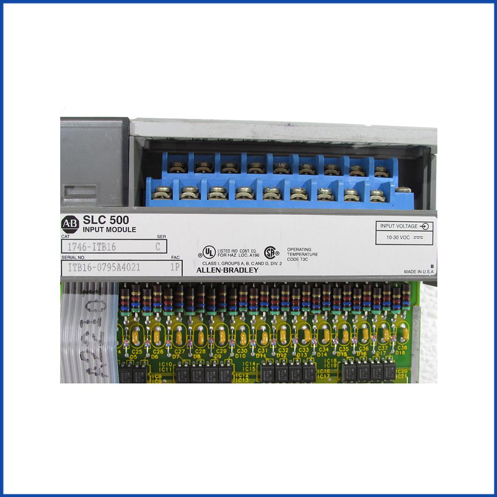 Allen Bradley 1746-ITB16 IO Digital Input Module SLC 500 Processors