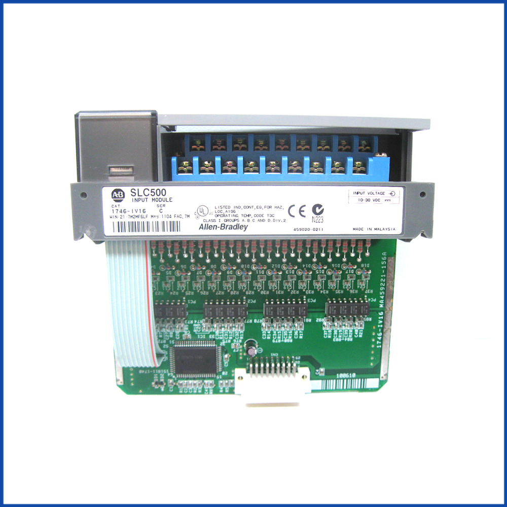 Allen Bradley 1746-IV16 IO Module SLC 500 Processors