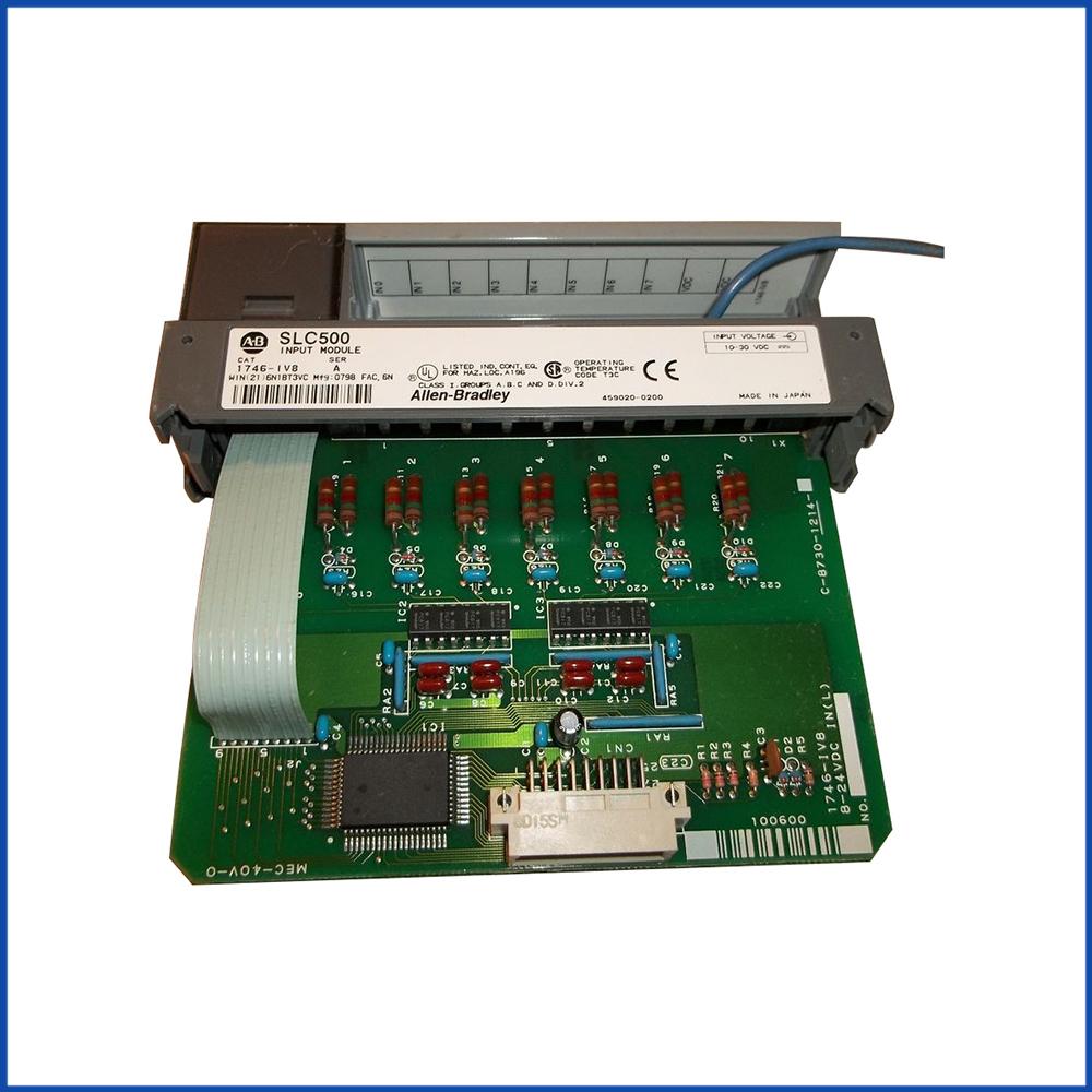 Allen Bradley 1746-IV8 IO Module SLC 500 Processors