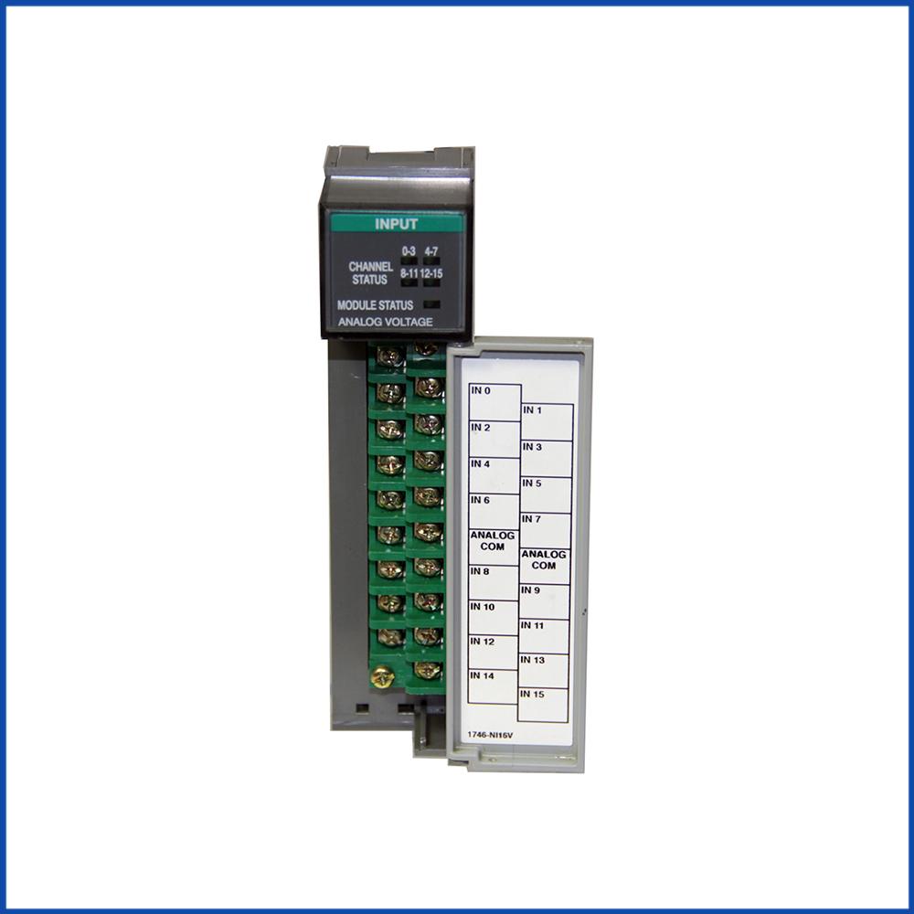 Allen Bradley 1746-NI16V IO Module SLC 500 Processors