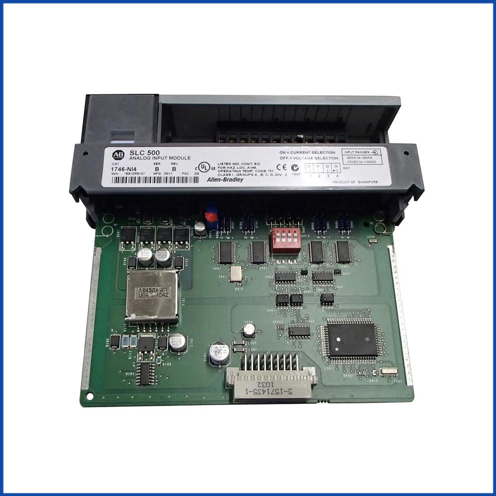 Allen Bradley 1746-NI4 IO Module SLC 500 Processors