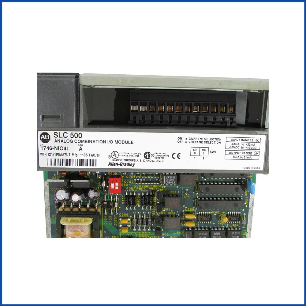 Allen Bradley 1746-NIO4I IO Module SLC 500 Processors