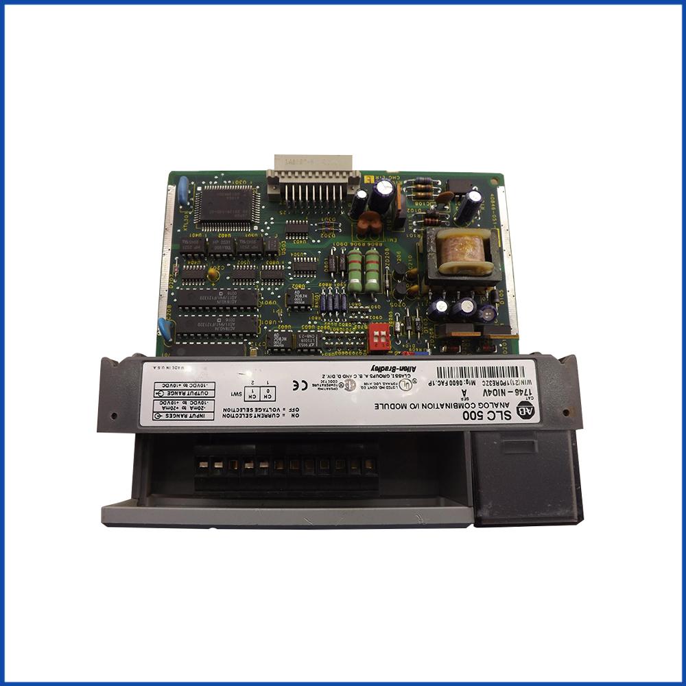 Allen Bradley 1746-NIO4V IO Module SLC 500 Processors
