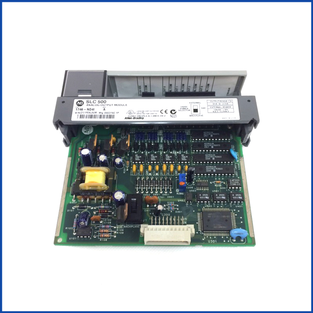 Allen Bradley 1746-NO4I IO Module SLC 500 Processors
