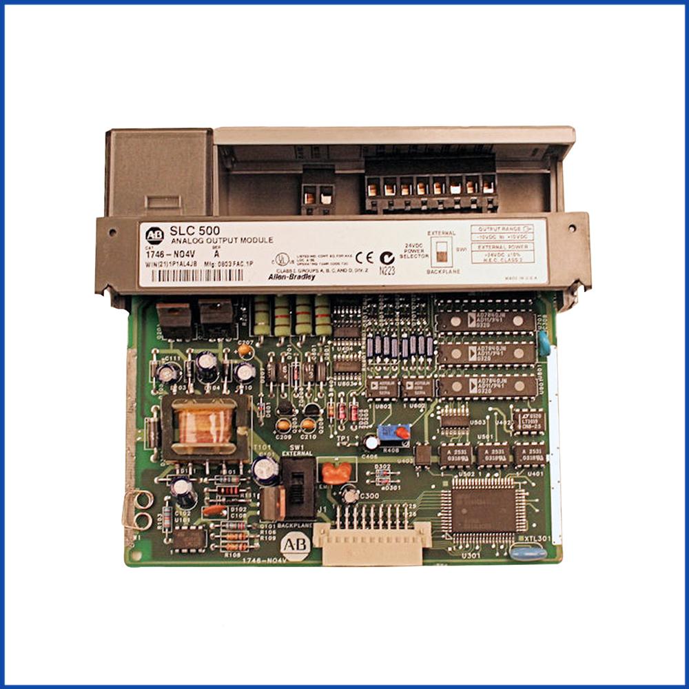Allen Bradley 1746-NO4V IO Module SLC 500 Processors