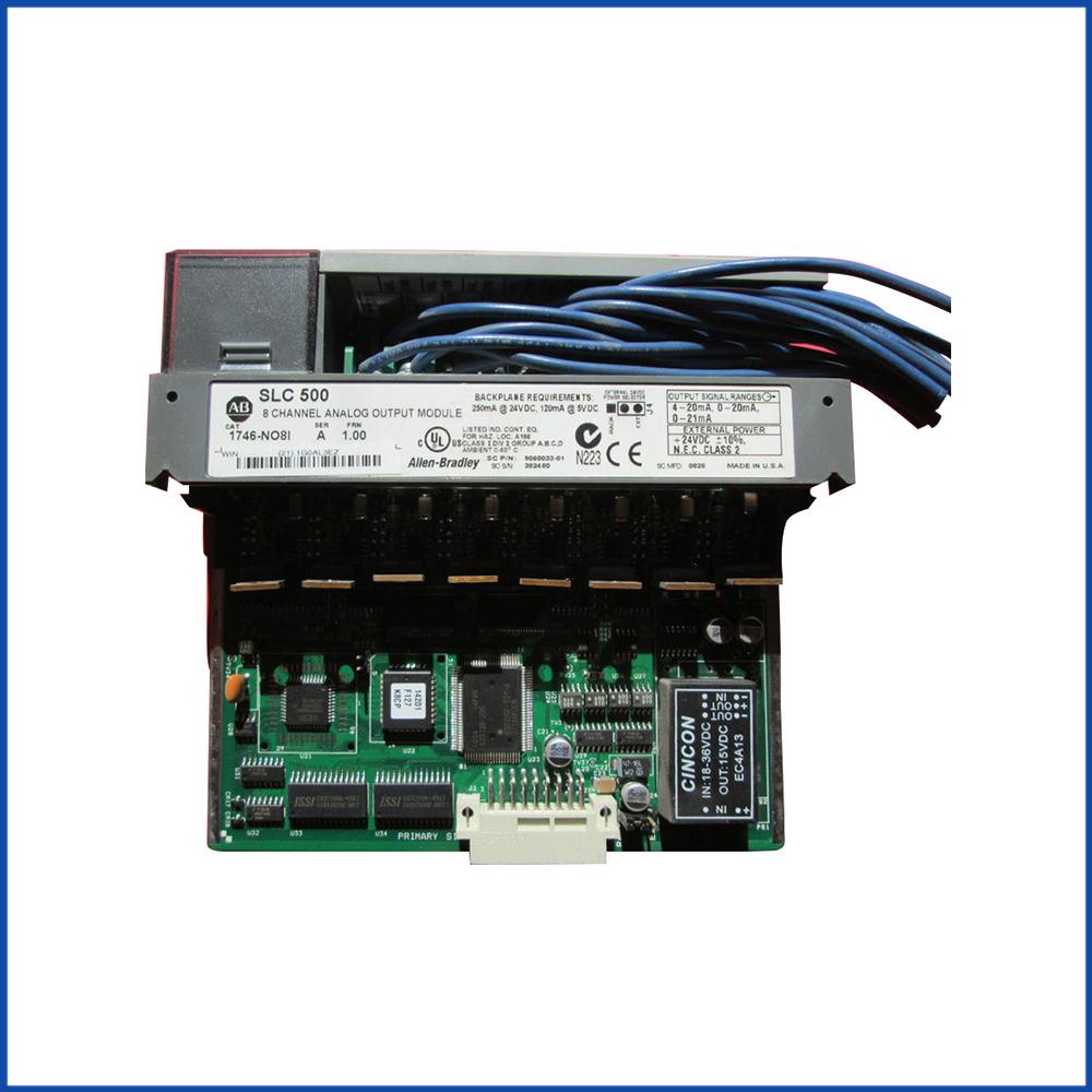 Allen Bradley 1746-NO8I IO Output Module SLC 500 Processors