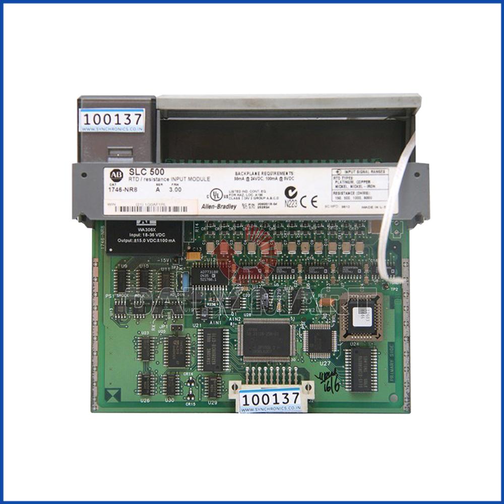 Allen Bradley 1746-NR8IO Module SLC 500 Processors