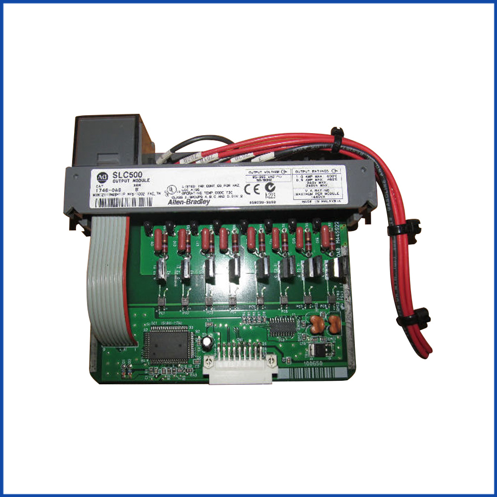 Allen Bradley 1746-OA8 IO Module SLC 500 Processors