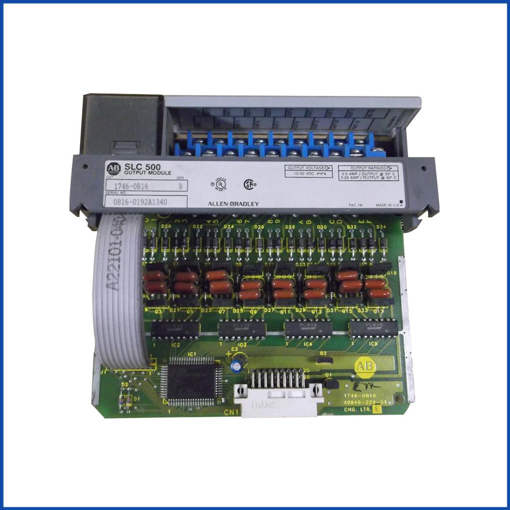 Allen Bradley 1746-OB16 IO Module SLC 500 Processors