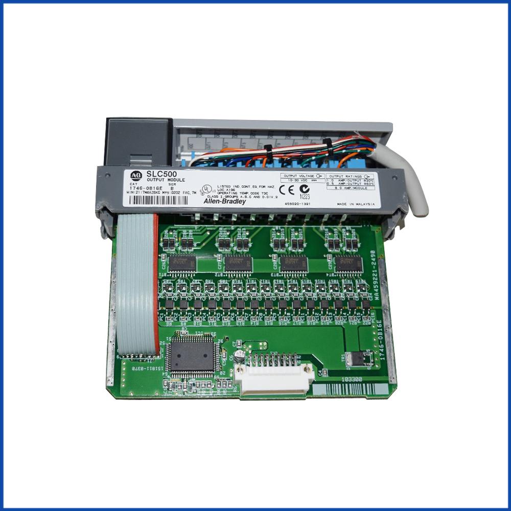 Allen Bradley 1746-OB16E IO Module SLC 500 Processors