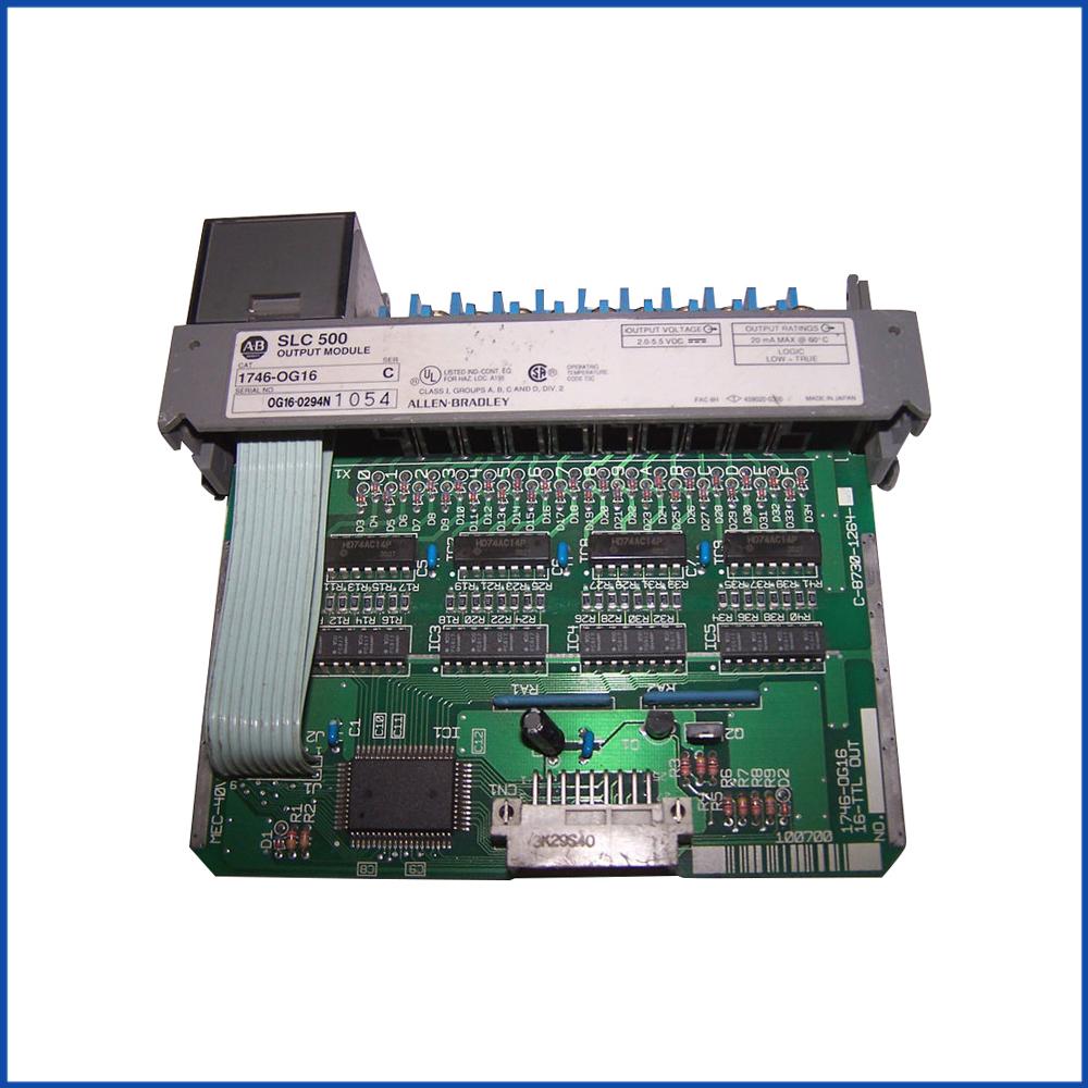 Allen Bradley 1746-OG16 IO Module SLC 500 Processors