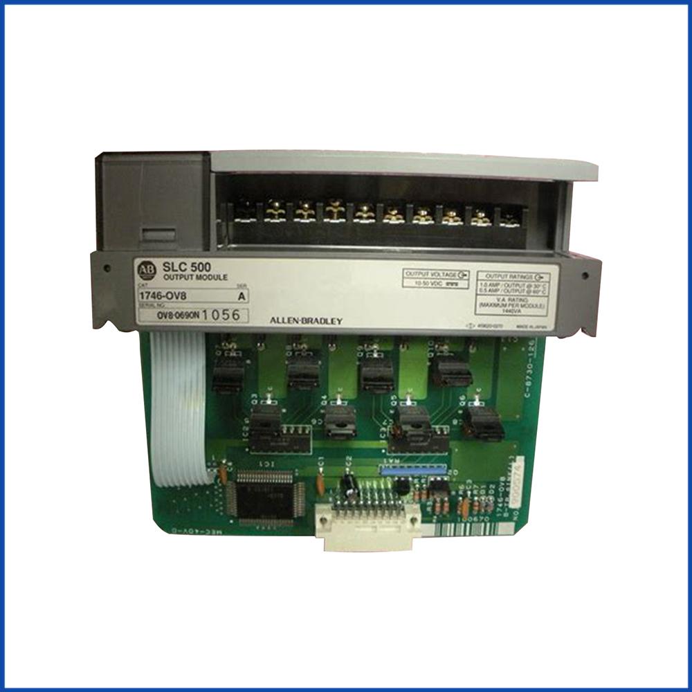 Allen Bradley 1746-OV8 IO Output Module SLC 500 Processors