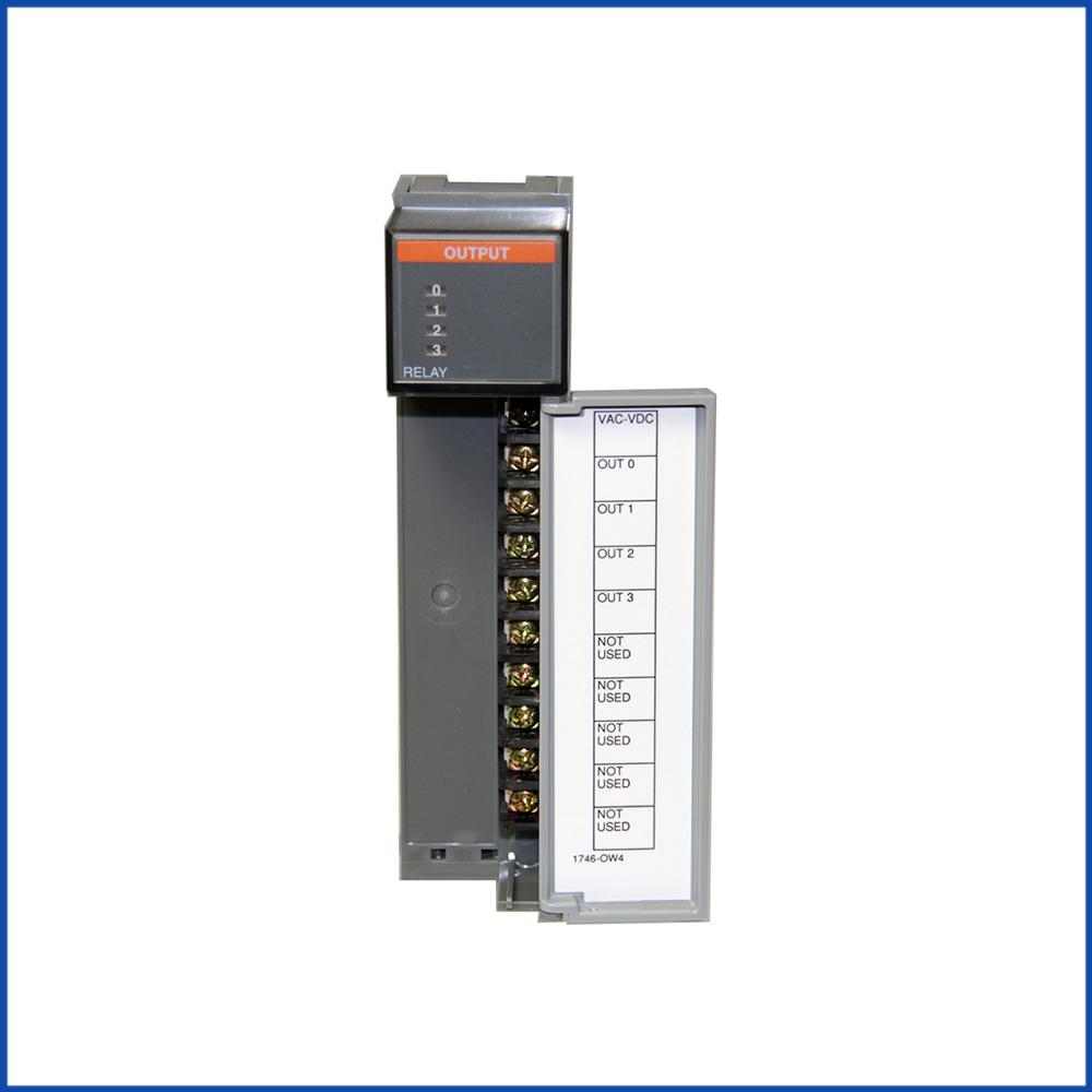 Allen Bradley 1746-OW4 IO Output Module SLC 500 Processors