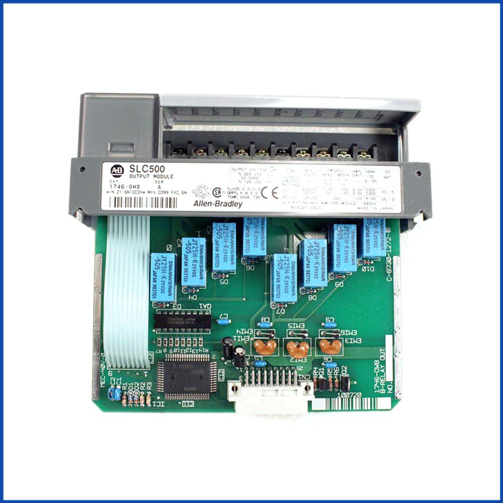 Allen Bradley 1746-OW8 IO Output Module SLC 500 Processors