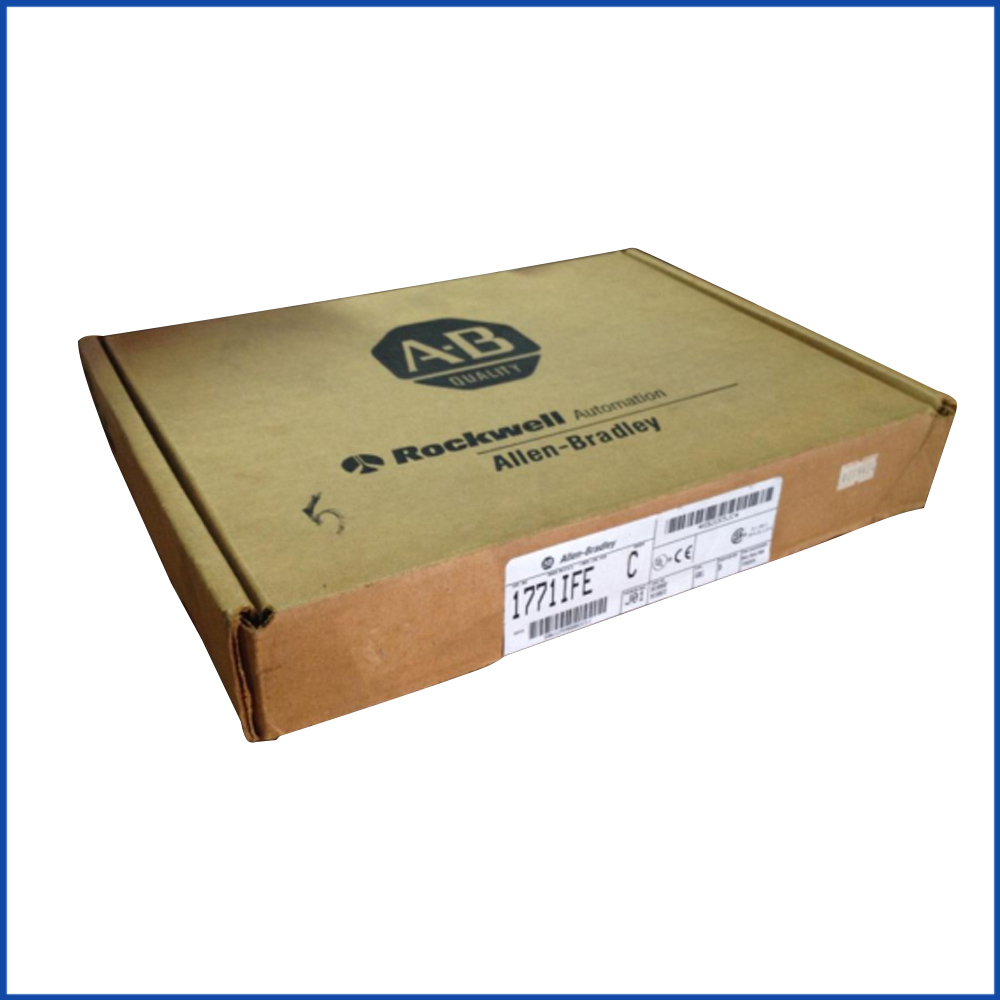 Allen Bradley 1771-IFE I/O Chassis Assembly PLC