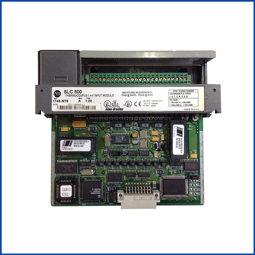 Allen Bradley 1746-NT8 IO Module SLC 500 Processors