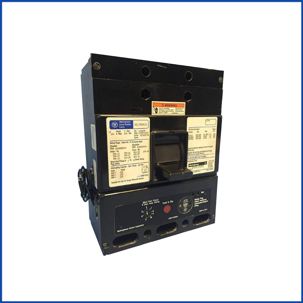 Westinghouse LC3600F Molded Case Circuit Breakers
