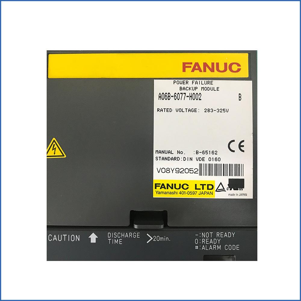 Fanuc Servo Driver A06B-6077-H002
