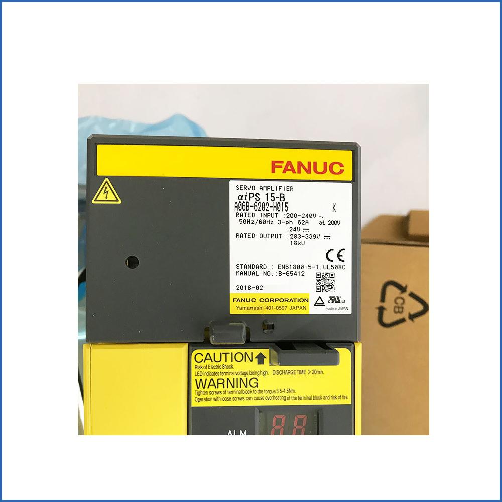 Fanuc Servo Driver A06B-6202-H015
